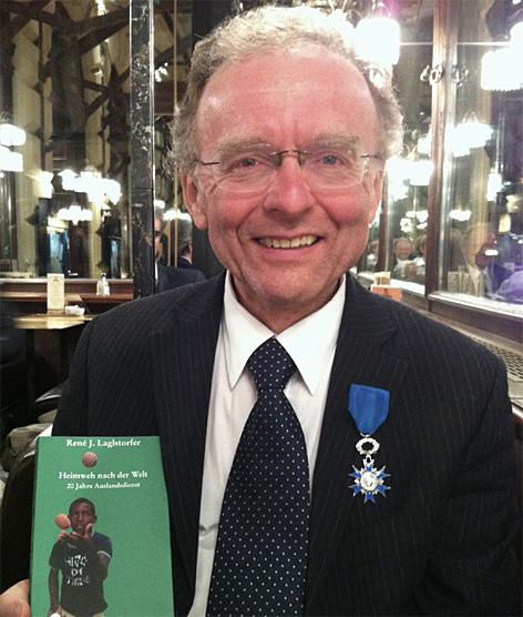 Andreas Maislinger Politikwissenschaft zum französischen Ehrenritter ernannt