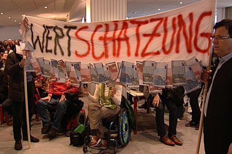 Protest der Salzburger Landesbediensteten